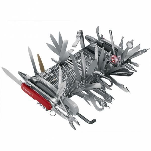 Une histoire de couteau suisse et d'entrepreneurs